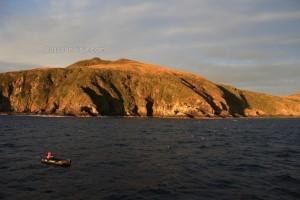 Desembarcando en el Cabo de Hornos