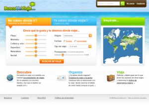 Diseño BuscoUnViaje.com 3