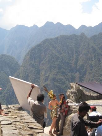 """La ciudad perdida de los incas es considerada Patrimonio de la Humanidad, maravilla del mundo y ha sido escenario de rodajes como el de la bollywoodiense """"Robot"""" (imágenes en exclusiva)"""
