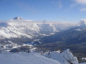 Viaje a los Dolomitas. Cortina D\'Ampezzo