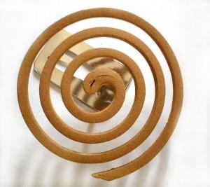 Espiral serpentina antimosquitos