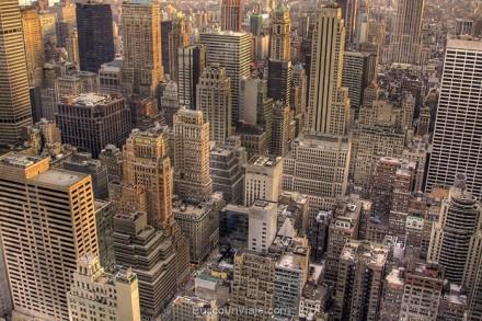 Manhattan de día desde el Rockefeller Center