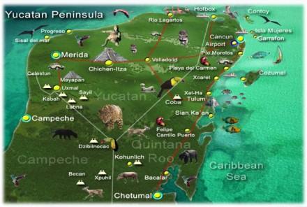 Peninsula del Yucatan