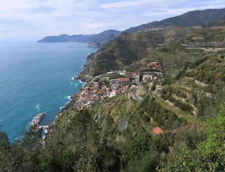 Colinas de Cinque Terre