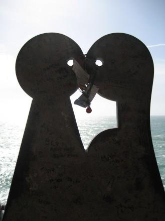 Escultura en Via de L'amore