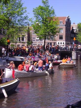Fiesta en Amsterdam