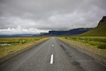Carretera n1 al sur de Islandia