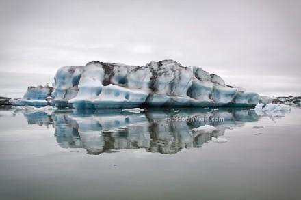 Iceberg Jökulsárlón. Islandia