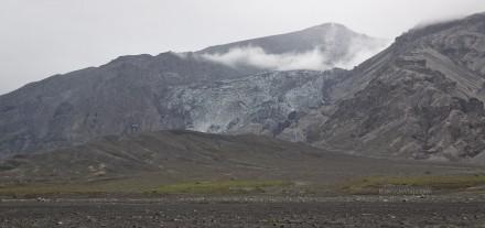 Lengua del glaciar Eyjafjallajökull