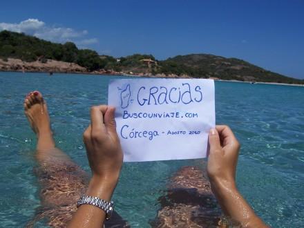 Una fan agradecida desde Córcega