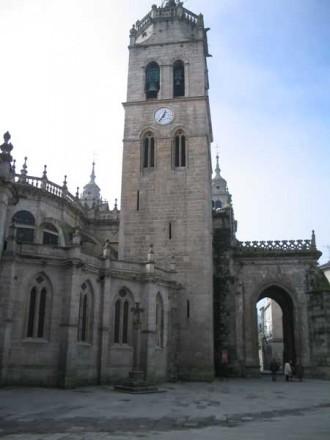 Foto de la Catedral de Lugo dedicada a San Froilán