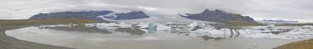 Glaciar Fjallssjökull en Islandia
