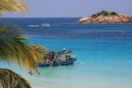 Pulau Redang. Vistas de la playa