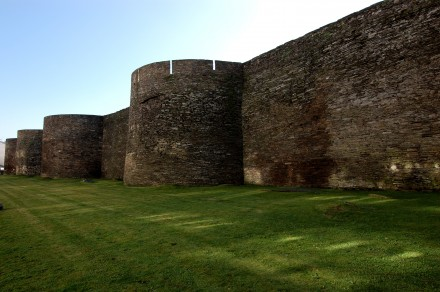 Las impresionantes Murallas de Lugo, patrimonio UNESCO