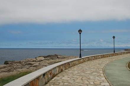 Una de las bellas playas de Lugo