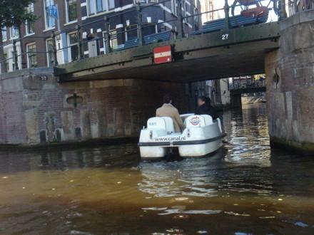 Bicicletas de Agua en Ámsterdam