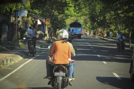 Camino a Tulamben en Bali (Indonesia)