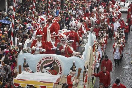 Carrozas en el Carnaval de Colonia