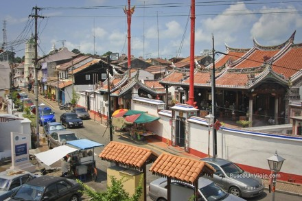 Calle de la Armonia en Melaka (Malasia)