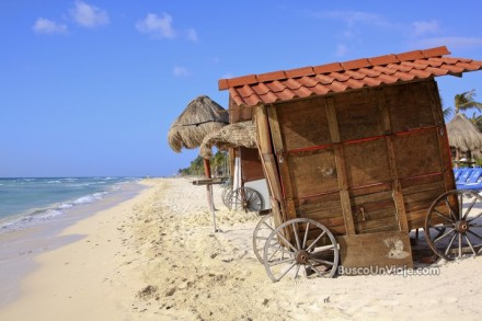 Playa en Riviera Maya - México