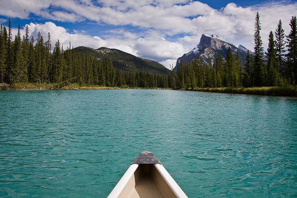 Viaje a Canadá en Canoa