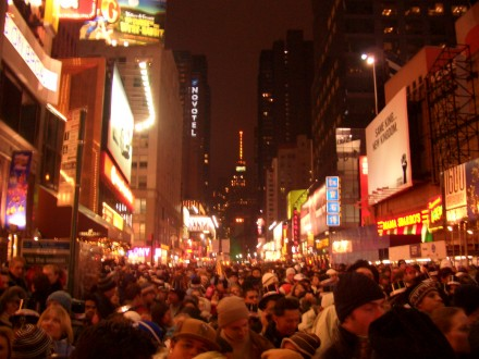 Nochevieja en Times Square- Chensiyuan, Wikipedia project