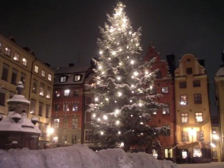 Árbol de Navidad en Estocolmo