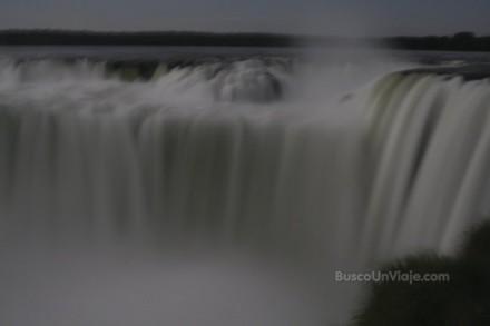 Cataratas de Iguazu. Visita bajo la luna llena