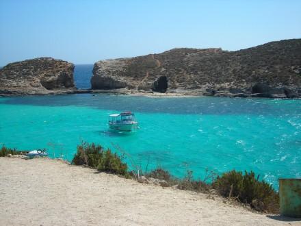 la laguna azul de malta
