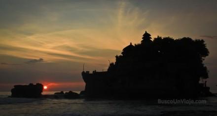 Indonesia. Bali. Templo de Tanah Lot