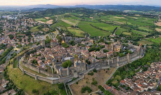 Ciudad de Carcassonne Francia