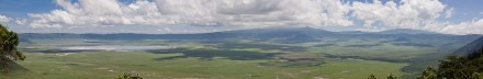 Panorámica del Ngorongoro