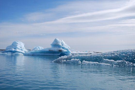 El glaciar Jökulsárlón en Islandia