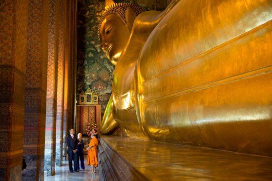 Wat Pho, el Templo del Buda Reclinado en Bangkok