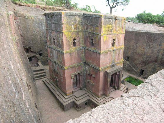 iglesias de Lalibela Etiopía