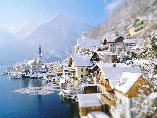 Hallstatt en los Alpes Austriacos