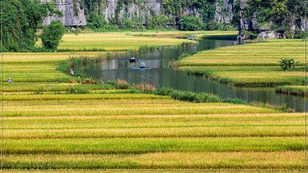 Tam Coc, Vietnam rio