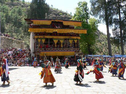Festival Paro Tsechu Bután