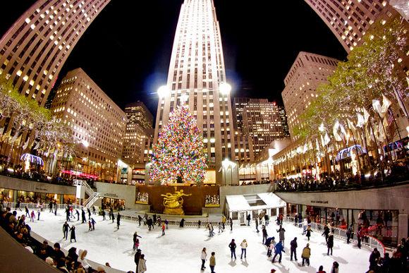 Arbol del Rockefeller Center Nueva York