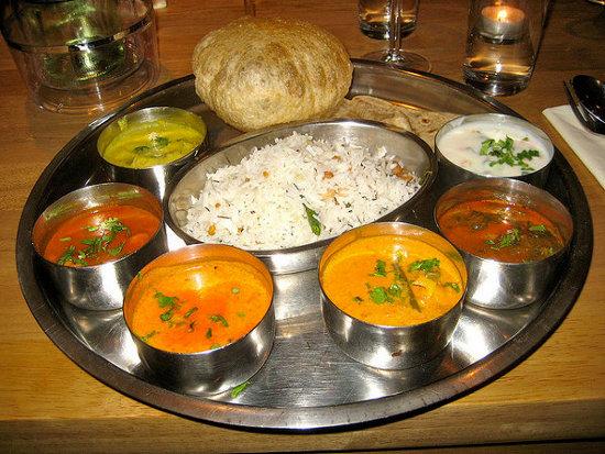 Cocina Hindú   Thali Si Quieres Probar Por Primera Vez La Comida India El Blog