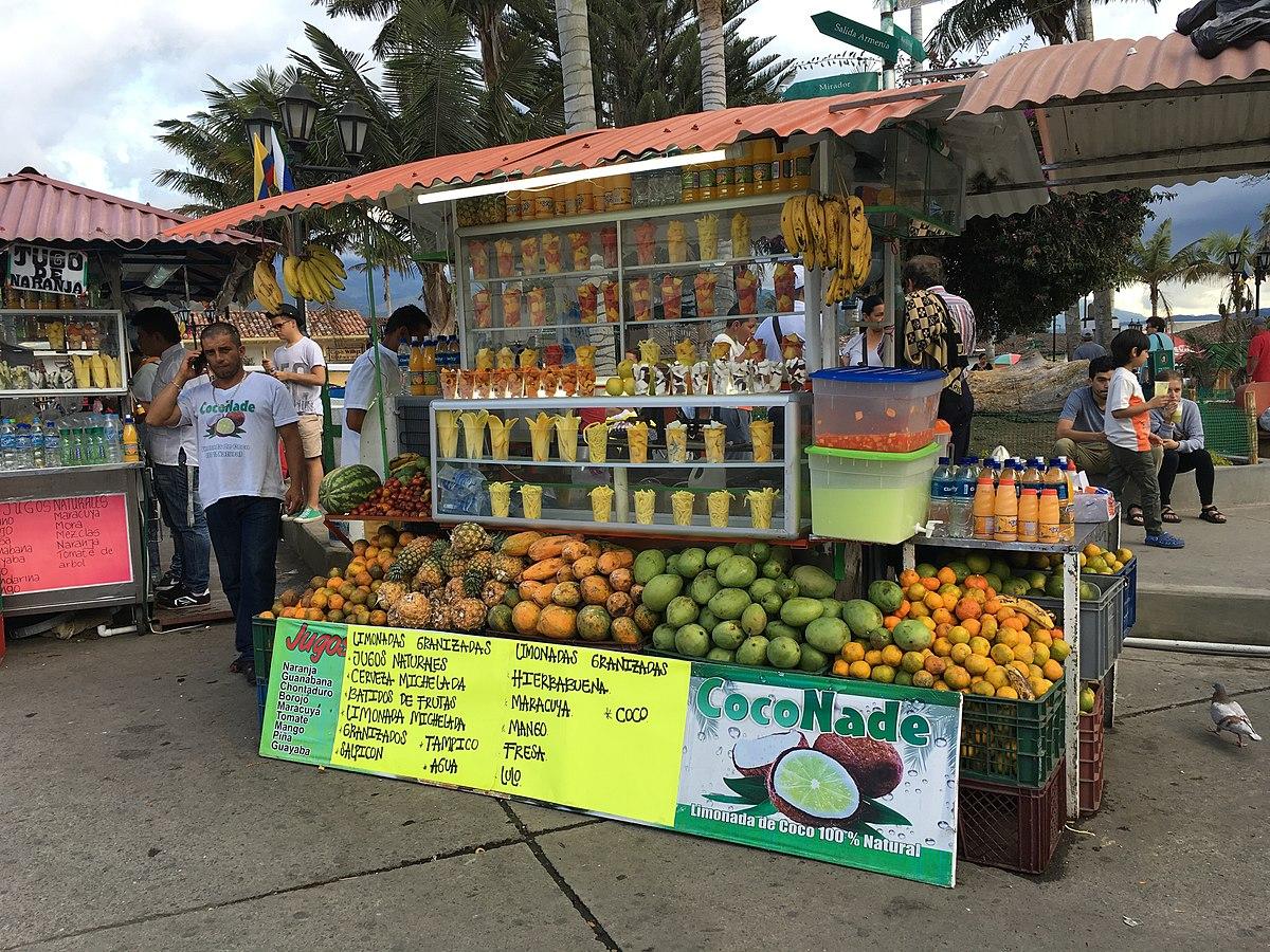 bebidas con frutas Colombia
