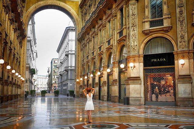 compras en Milan