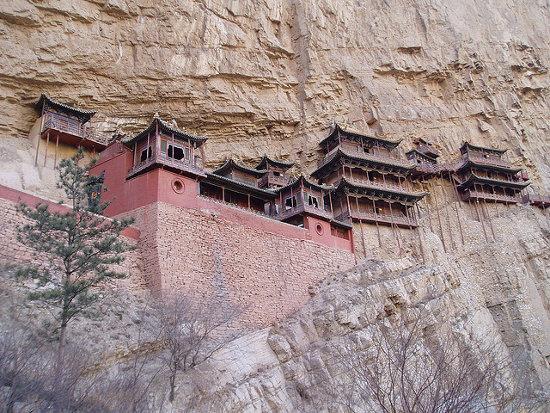 Monasterio colgante Xuan Kong Si