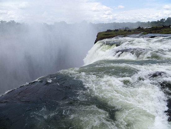 Devil's Pool en las Cataratas Victoria (Zambia)