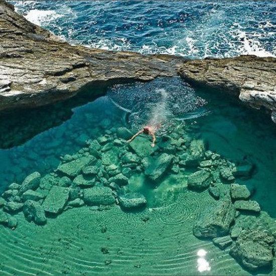 Giola en Thassos (Grecia)