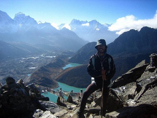 Quique Cardona en Nepal