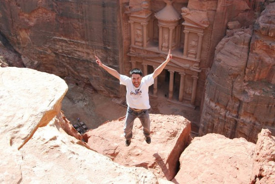 Quique Cardona en Petra