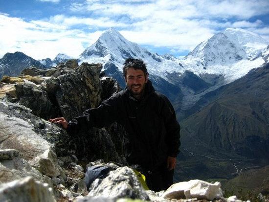 Quique Cardona en los Himalayas
