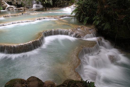 Tat Kuang Si en Luang Prabang (Laos)
