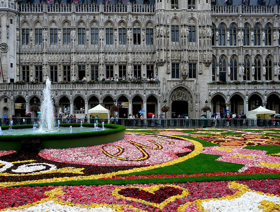 La Grand Place de Bruselas (Bélgica)